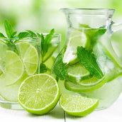 Lime juice wallpaper